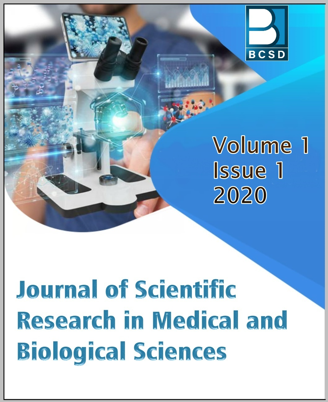 View Vol. 1 No. 1 (2020): Journal of Scientific Research in Medical and Biological Sciences
