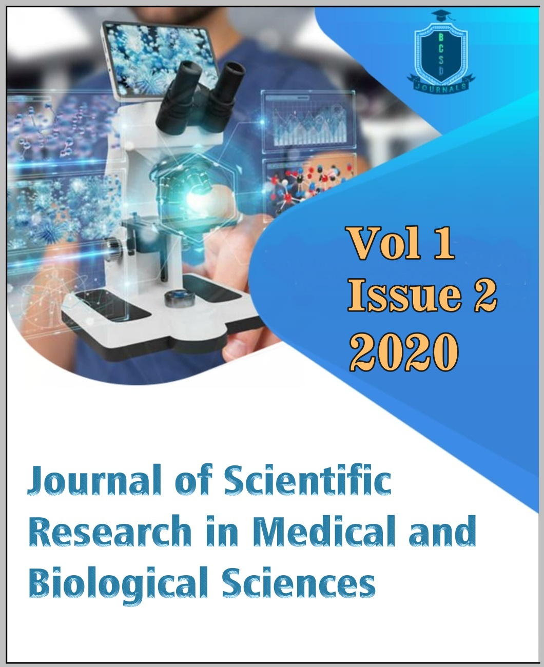 View Vol. 1 No. 2 (2020): Journal of Scientific Research in Medical and Biological Sciences