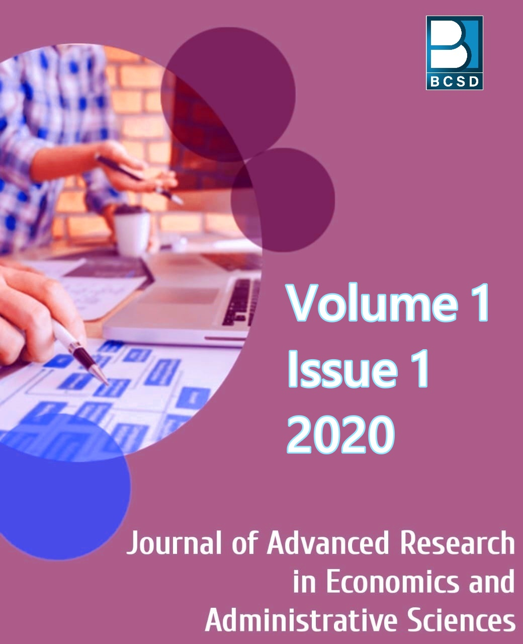 View Vol. 1 No. 1 (2020): Journal of Advanced Research in Economics and Administrative Sciences