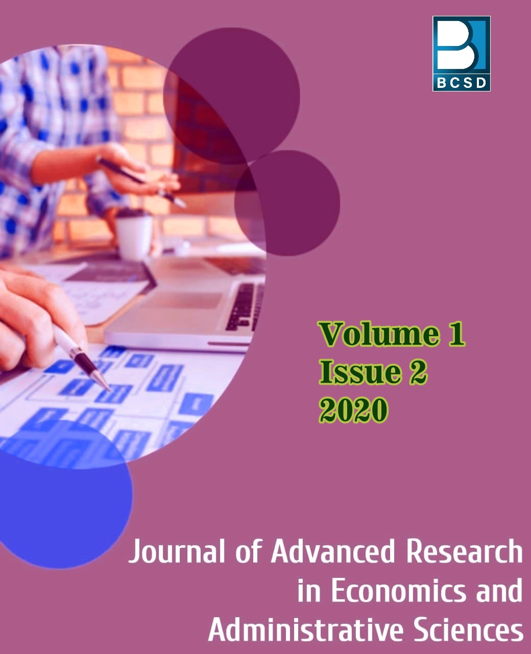 View Vol. 1 No. 2 (2020): Journal of Advanced Research in Economics and Administrative Sciences