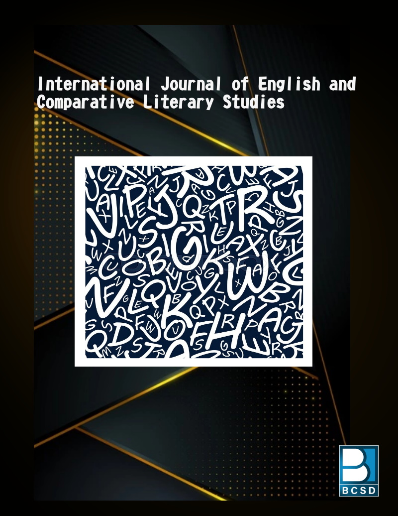 View Vol. 2 No. 4 (2021):  International Journal of English and Comparative Literary Studies